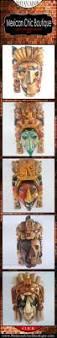 25 best mayan masks aztec masks images on pinterest mexican