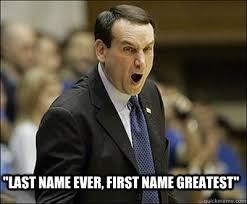 Coach K Memes - coach k memes quickmeme