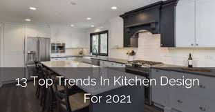 best color for low maintenance kitchen cabinets 13 top trends in kitchen design for 2021 home remodeling