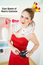 Queen Halloween Costume Joy Fashion Halloween Easy Queen Hearts Costume