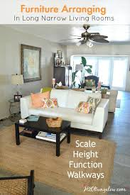 How To Arrange Living Room Furniture In A Small Space 7 Tips For Arranging Furniture In A Narrow Living Room