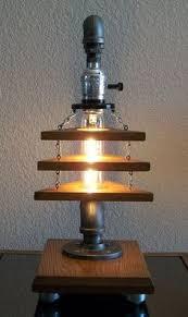 Filament Bulb Desk Lamp Industrial Art Diy Pipe Lamp Bulbs Desk Lamp And Industrial