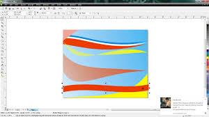 rumus membuat latar belakang cara membuat background original dengan coreldraw x4 youtube