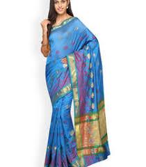 Buy Green Plain Cotton Silk Buy Green Plain Cotton Silk Saree Online