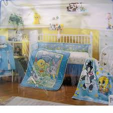Looney Tunes Crib Bedding We An Do Stripes Future Babies Pinterest Looney