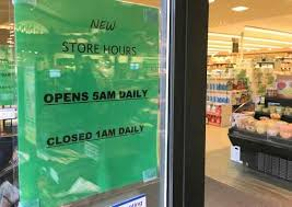 local safeway stores are no longer 24 7