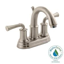Pfister Parisa Bathroom Faucet Delta Southlake 4 In Centerset 2 Handle Bathroom Faucet In