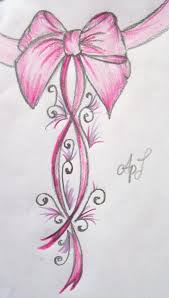pink bow tattoo new by cupcake lakai on deviantart