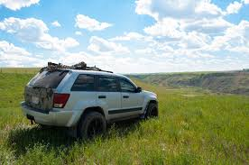 jeep grand cherokee lifted drumheller alberta in the heat of summer our life story