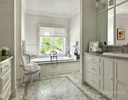 cream and gray bathroom transitional bathroom ashley goforth