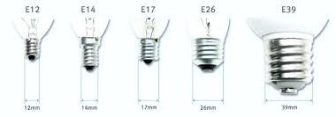 light bulb base sizes chandelier bulb base size led bulb sockets and base types buyers