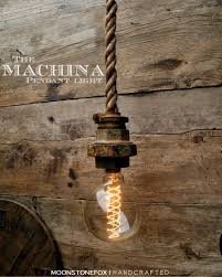 industrial pendant light caged ceiling light hanging