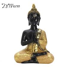 aliexpress com buy kiwarm praying thai buddha sitting meditating