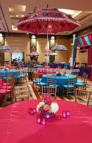 decorative indian wedding multi color handmade umbrella home decor