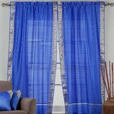 Sari Curtain Custom Made Curtains Home Decor Saree Sari Fabric Tunics Kurti