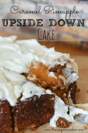 caramel upside down pineapple cake the sassy slow cooker