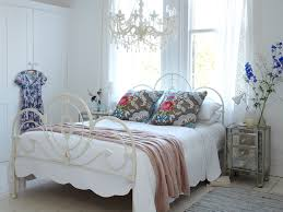 wrought iron bed frames in bedroom shabby chic with twin over