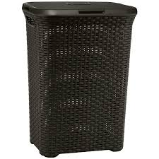 Round Laundry Hamper by Shop Plastic Basket Or Clothes Hamper At Lowes Com
