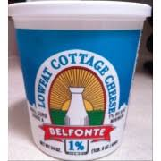 Friendship Cottage Cheese Nutrition by Belfonte 1 Lowfat Cottage Cheese Calories Nutrition Analysis