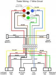 wiring diagrams 4 way trailer plug 4 pin trailer connector 7