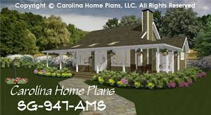 cottage home plans small country guest cottage house plan sg 947 ams sq ft