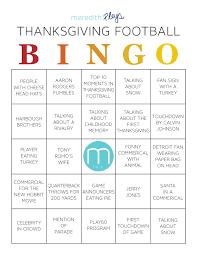 thanksgiving family games free printables turkey day