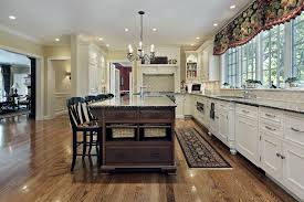 white kitchen cabinets with oak floors ddbuild a new custom chef s style kitchen with white