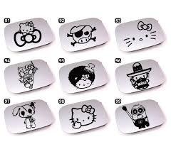 kitty spiderman pig mexico minion rabbit zombie sticker series