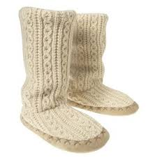 womens knit boots oldnavy com s cable knit slipper boots slippe