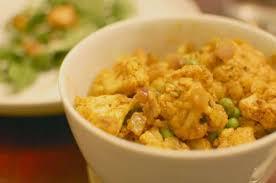cuisiner le chou fleur recette curry de chou fleur et petits pois toutes les recettes
