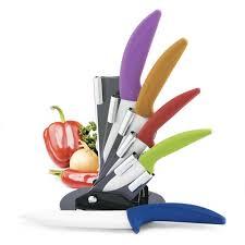 cooking essentials modern block 6 piece knife set u0026 reviews wayfair