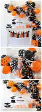 spooky halloween balloon garland eighteen25