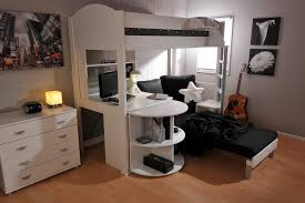Plans For Bunk Bed With Desk Underneath by Beautiful Bunk Beds With Desk And Couch Full Image For Loft Bed