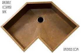 Kitchen Zinc Or Sink by Corner Kitchen Sinks In Copper And Stainless Steel That Make Sense