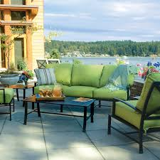 Patio Furniture With Sunbrella Cushions Decor Tips Marvelous Patio Furniture Sets With Lime Green Fabric