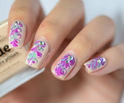 Diy Easy Halloween Drag Marble Nails Design Cute Dry Nail Art by Life World Women Dotting Tool Needle Nail Art Design Inspired
