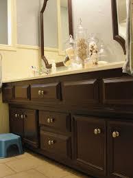 bathroom cabinet top spray paint bathroom cabinets room ideas