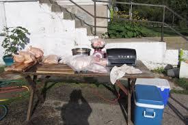 Backyard Chicken Processing by Chicken Butcherings 2017 Spring Lake Homestead