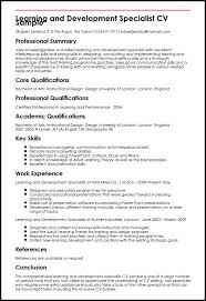 powerpoint presentation specialist sample resume training