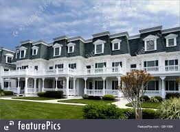 Victorian Style Houses Residential Architecture Victorian Style Row Houses Stock