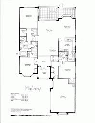 one story floor plans with two master suites baby nursery single story luxury house plans luxury one story
