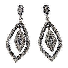 swarovski crystal black necklace images Swarovski crystal black friday deal tear drop crystal earrings jpg