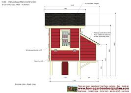 Chicken Coop Floor Plan Home Garden Plans S300 Chicken Coop Plans Construction