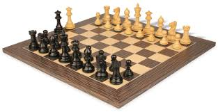 parker staunton chess set ebonized u0026 boxwood pieces 3 25