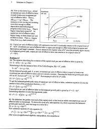 economics advanced macroeconomics 3rd edition solutions