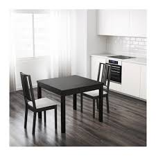 BJURSTA Extendable Table Brownblack IKEA - Ikea dining room table