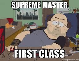Basement Dweller Meme - supreme master first class south park basement dweller meme