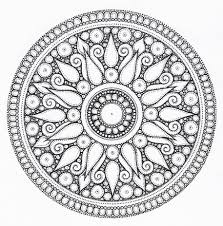 cool designs coloring pages difficult geometric design coloring