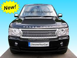 chrome land rover land rover range rover