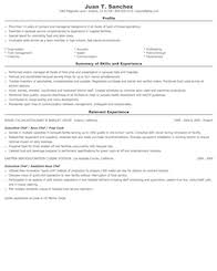 Cook Job Description For Resume by Food Preparation And Serving Related Resume Samples